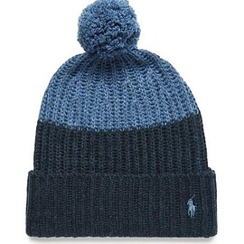 Polo Ralph Lauren - Color-Block Knitted Bobble Hat