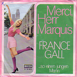 FRANCE GALL - FRANCE GALL / MERCI, HERR MARQUISS