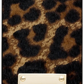 MICHAEL KORS - iPhone Case / Leopard Print Haircalf in Animal (CHEETAH)