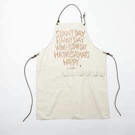 and wander - printed apron