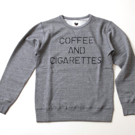 WRIGHT - COFFEE&CIGARETTES sweat shirt