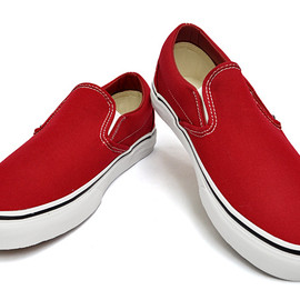 VANS - CLASSIC Slip-On (CANVAS) CHILI PEPPER