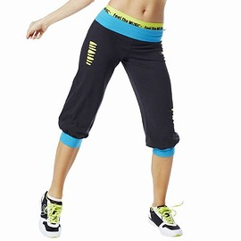 Zumba Fitness - Zumba CUT UP OVER YOU CAPRIS SEW BLACK