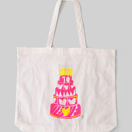 BY MALENE BIRGER - 10th Birth cake bag/pink