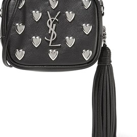 Saint Laurent - Monogramme Blogger embellished leather shoulder bag