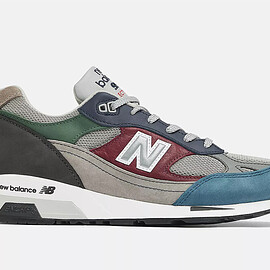 New Balance - ML9915V1 - Grey/Dark Red/Green/Aqua Blue/Navy/Black