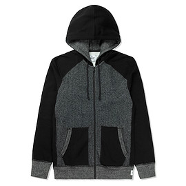 reigning champ - reigning_champ_terry_black_grey_hoodie