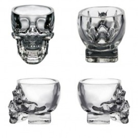 cool cup - Creative Crystal Skull Shot Glass Cup Novetly Christmas Gift
