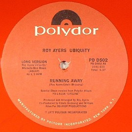Roy Ayers Ubiquity - Running Away (Unofficial Red Vinyl 12inch)