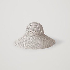 COS - BRODERIE-ANGLAIS PATTERNED HAT