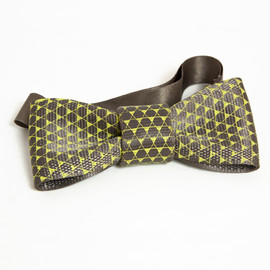 NEWSED - Seat belt bow tie Print(トライアングル)