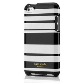 kate spade NEW YORK - Case for iPod touch 4G - Vert Stripes