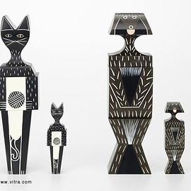 Vitra - Alexander Girard  Wooden Doll Cat & Dog