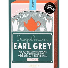 Lberty London - Earl Grey Crumbly Fudge 200g