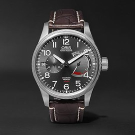 Oris - Pro Pilot Calibre 111 Stainless Steel and Alligator Watch