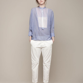 boy. by band of outsiders - OVERSIZED CROPPED SHIRT