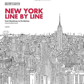 Matteo Pericoli, Robinson - New York, Line by Line: From Broadway to the Battery