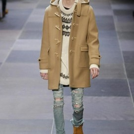 Saint Laurent Paris - Saint Laurent Fall Winter Menswear 2013 Paris
