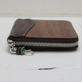 VARCO REAL WOOD - zip wallet