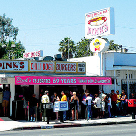 Los Angeles - Pink's Hot Dogs