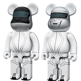 MEDICOM TOY - BE@RBRICK 400% DAFT PUNK(TRON LEGACY Ver.)2 PACK