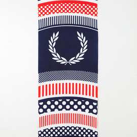 FRED PERRY, HIROCOLEDGE - コラボ手ぬぐい「100×35」