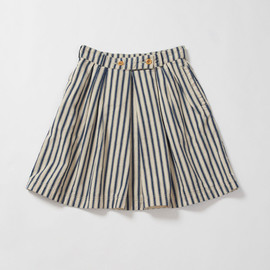 MHL. - HERRIONBONE STRIPE SKIRT