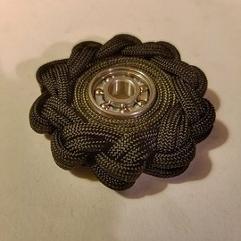 Milspec Paracord Fidget Spinner (tactical toy with built-in FireCord)