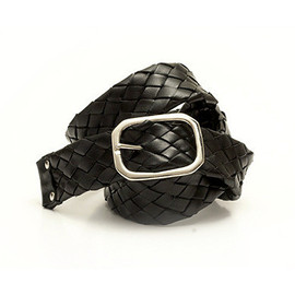 Ki:ts - Plait 120 Woven Leather Belt