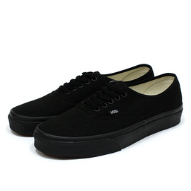 VANS - VANS Authentic - Black/Black