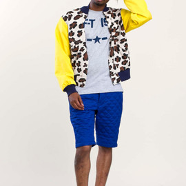 Mark McNairy - quilted shorts