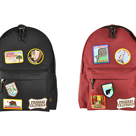 STANDARD CALIFORNIA, PORTER - PORTER×SD Day Pack with Patch