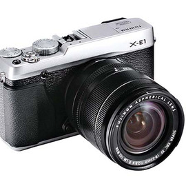 FUJIFILM - X-E1 Mirrorless Camera