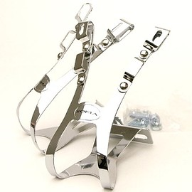 SOMA - SOMA four gate toe clips (silver)