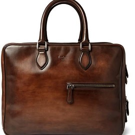 Berluti - Formula 1001 Polished-Leather Holdall