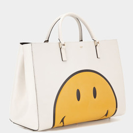 ANYA HINDMARCH - Smiley Maxi Featherweight Ebury