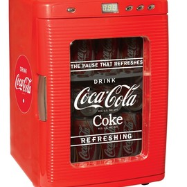 Coca-Cola - Fridge with LED Display