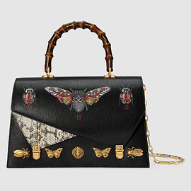 GUCCI - FW2017 Ottilia leather top handle bag