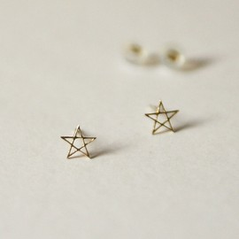 ALAND - light star earring