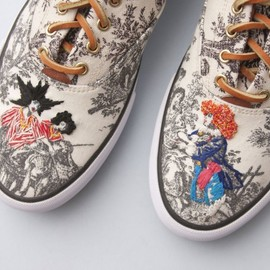Keds, Richard Saja - TOILE DE JOUY INSPIRED SNEAKERS