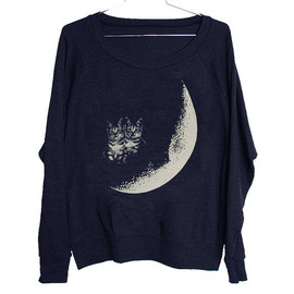 Moon Cats Raglan