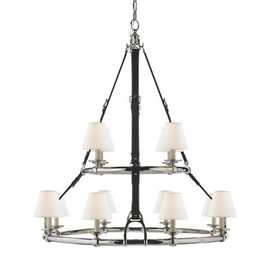 RALPH LAUREN - WESTBURY DOUBLE TIER CHANDELIER