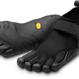 Vibram - Vibram FiveFingers Flow Multisport Shoes - Men's BLACK/BLACK