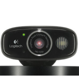Logitech - Broadcaster Wi-Fi Webcam