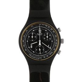 Swatch - CHRONO 【PURE BLACK】 SCB114