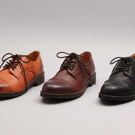 PADRONE - DERBY STRAIGHT TIP SHOES / JASON