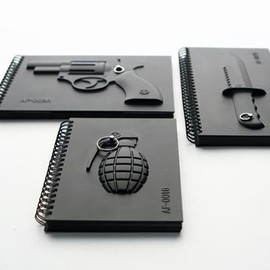 MEGAWING - Armed Notebook