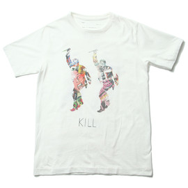 NADA. - Kill&Walk Tee #White