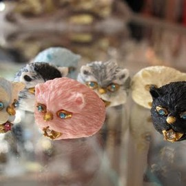 Matina  Amanita for  Sretsis - CAT RING