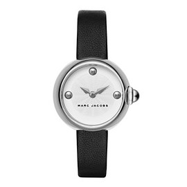 MARC JACOBS - Courtney 28 Silver Steel Black Strap ¥25,000 (+税)